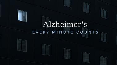Alzheimer's Every Minute Counts