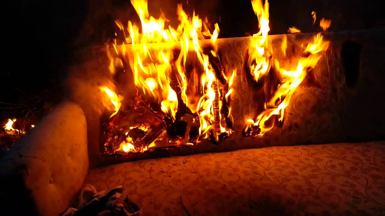 Taking Care of Aging Parents and the couch on fire