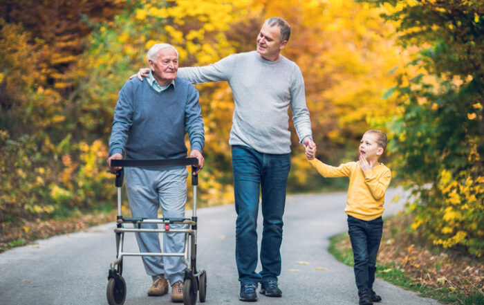 """Caregivers in the """"Sandwich Generation"""""""
